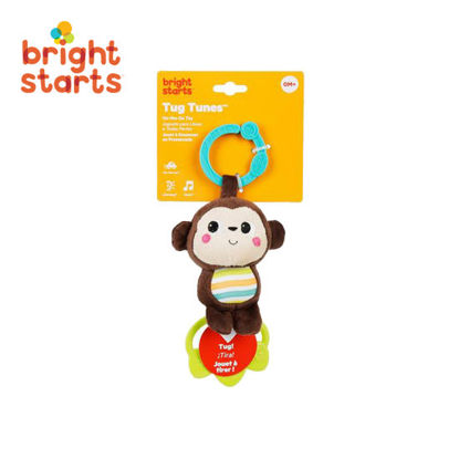 Picture of Bright Starts Tag Tunes Take Along Toy - Monkey