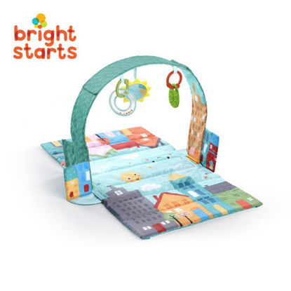 Picture of Bright Starts Out of Town Easy Travel Playmat