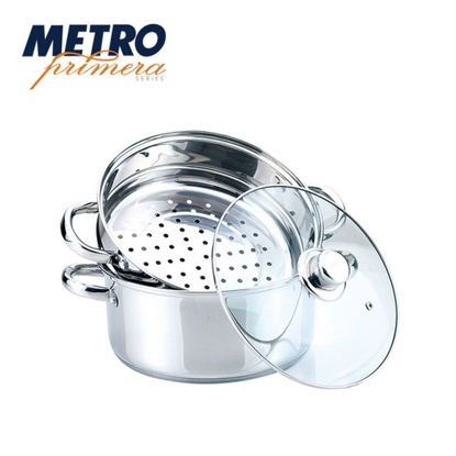 Picture of Metro Primera Series 24cm Stainless steel Steamer Set