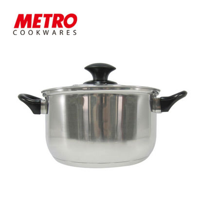 Picture of Metro Cookwares 22cm Stainless Steel Sauce Pot