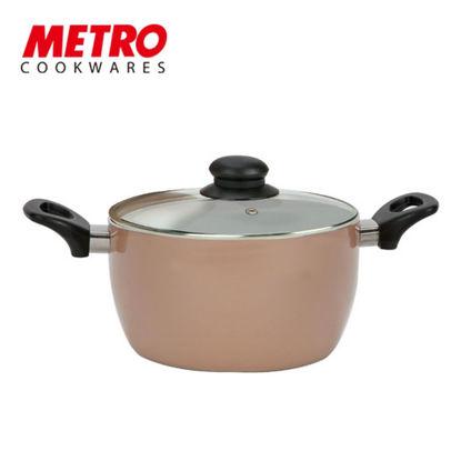 Picture of Metro Cookwares 24cm Nonstick Dutch Oven