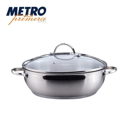 Picture of Metro Primera Series 28cm Stainlesss Steel Low Pot