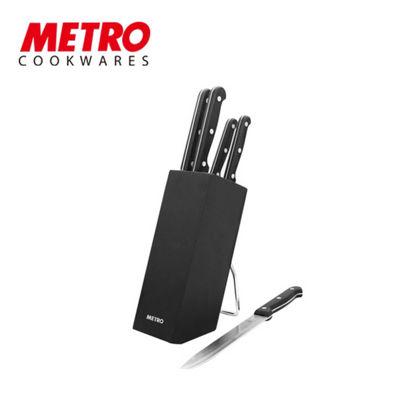 Picture of Metro Cookwares 6pcs Knife Block set