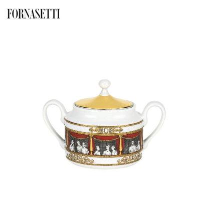 Picture of Fornasetti Sugar bowl Don Giovanni colour