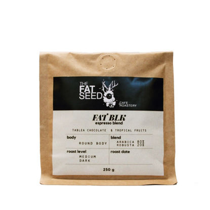 Picture of The Fat Black Signature House Espresso Blend 250G
