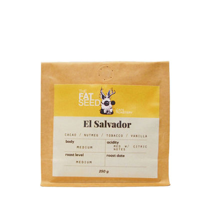 Picture of Micro Roasted El Salvador Single Origin Specialty Arabica 250G