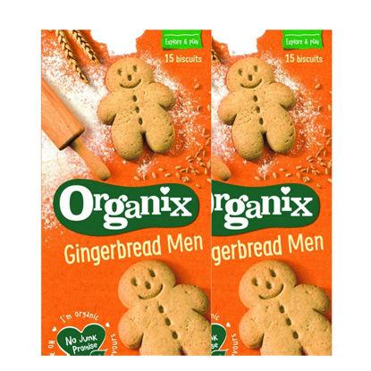 Picture of Organix Gingerbread Men Biscuits (BUY 1 GET 1)