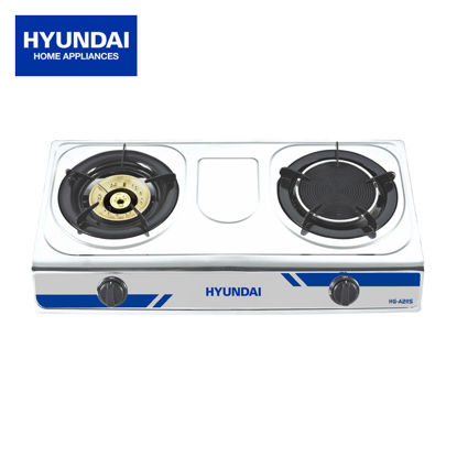 Picture of Hyundai Stainless Steel Two Burner in One HG-A211S