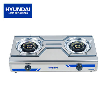 Picture of Hyundai Stainless Steel Double Burner HG-A206S