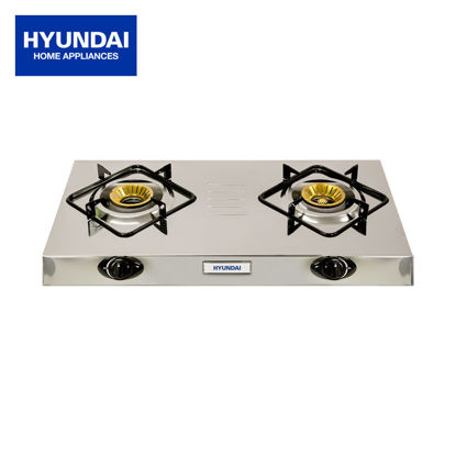 Picture of Hyundai Stainless Steel Double Burner HG-X221S