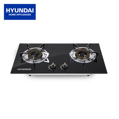 Picture of Hyundai Two-Way Gas Stove/ Built-in Hob Tempered Glass HG-A402K