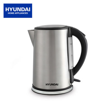 Picture of Hyundai 1.8L Capacity Brushed Stainless Steel Body Electric Jug HEK-L150/1807 S/S