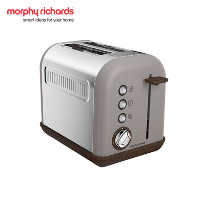 Picture of MORPHY RICHARDS Accents 2-Slice Toaster Pebble