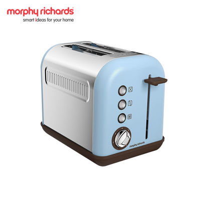 Picture of MORPHY RICHARDS Accents 2-Slice Toaster Azure