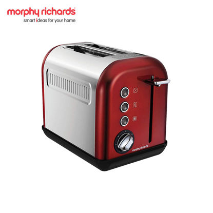 Picture of MORPHY RICHARDS Accents 2-Slice Toaster Red