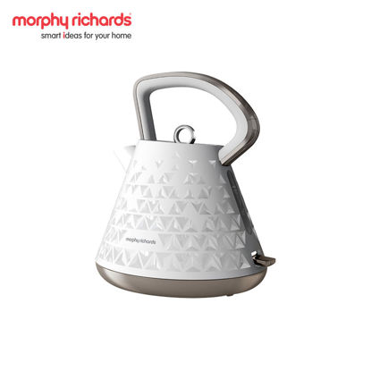 Picture of MORPHY RICHARDS Prism Kettle White