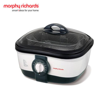 Picture of Morphy Richards 48615 Intellichef Multicooker, 5 L (White/Black)
