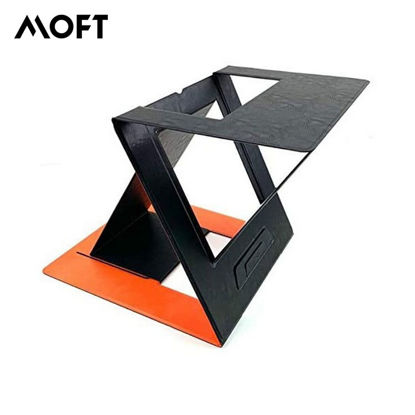 Picture of MOFT Z Foldable 5-in-1 Sit Stand Laptop Desk - Orange