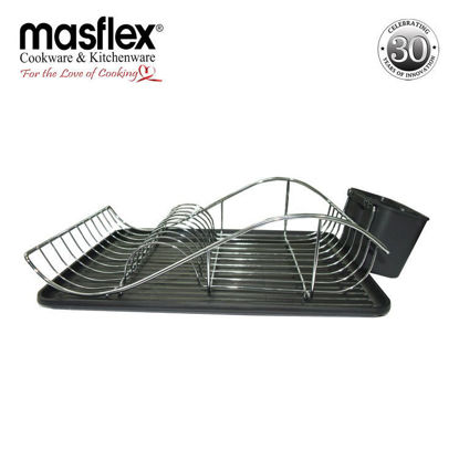 Picture of Masflex Trendy Dish Organizer (Black)