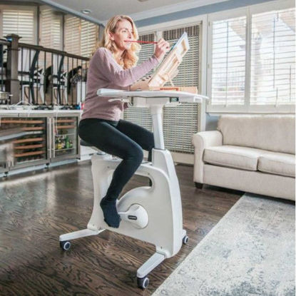 Picture of Flexispot All-in-One Desk Bike – Deskcise Pro™ V9 (White)
