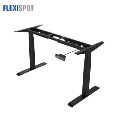 Picture of Flexispot Electric Height-Adjustable Desk 3-Stage 2 Motors E3: Frame Only - Black
