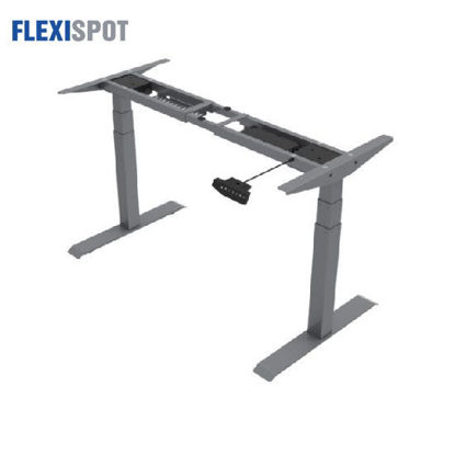 Picture of Flexispot Electric Height-Adjustable Desk 3-Stage 2 Motors E3: Frame Only - Gray