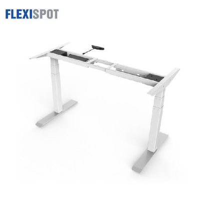 Picture of Flexispot Electric Height-Adjustable Desk 3-Stage 2 Motors E3: Frame Only - White
