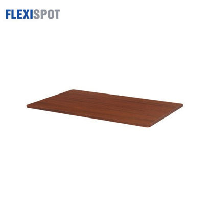 Picture of Flexispot Melamine-Surfaced Tabletop 1200x600mm 1206 - Mahogany