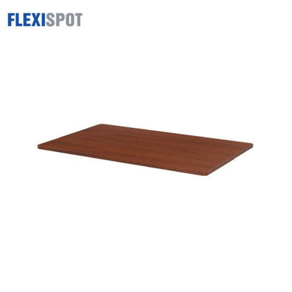 Picture of Flexispot Melamine-Surfaced Tabletop 1400x00mm 1407 - Mahogany