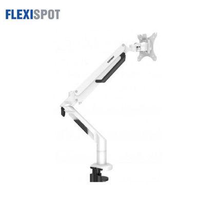 "Picture of Flexispot Single Gas Spring Monitor Arm - Premium 17-36"" MA8 - White"
