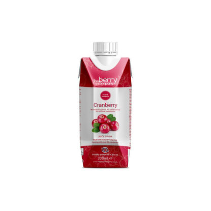 Picture of The Berry Company Cranberry 330ml