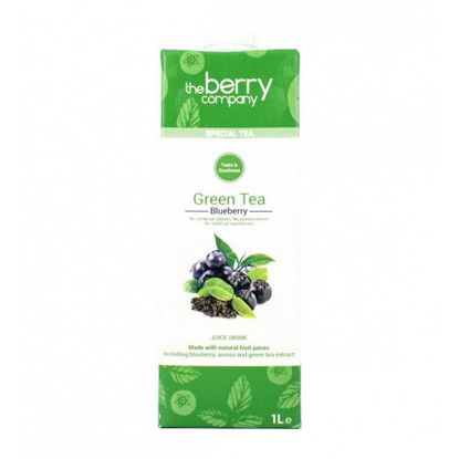 Picture of The Berry Company Green Tea Blueberry 1L