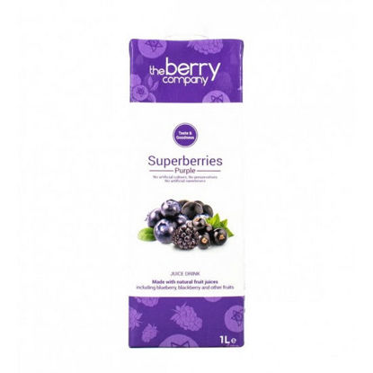 Picture of The Berry Company Superberries Purple 1L