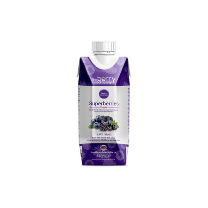 Picture of The Berry Company Superberries Purple 330ml