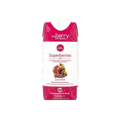 Picture of The Berry Company Superberries Red 330ml