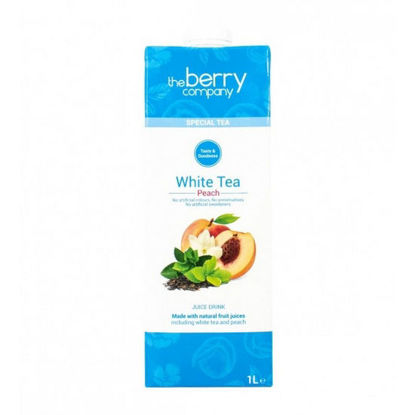 Picture of The Berry Company White Tea Peach 1L