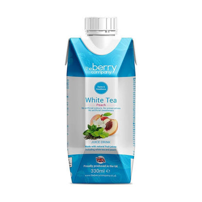 Picture of The Berry Company White Tea Peach 330ml