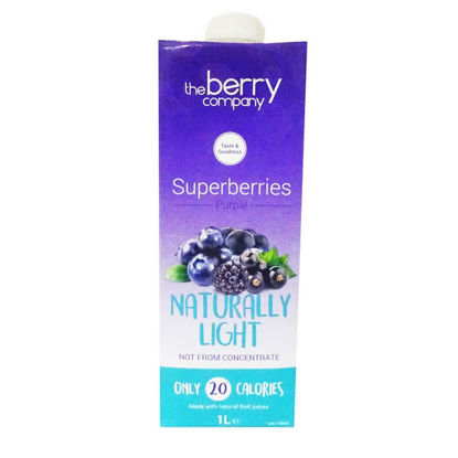 Picture of The Berry Company Naturally Light Superberries Purple 1L