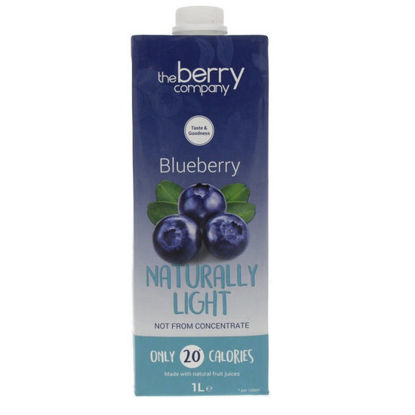 Picture of The Berry Company Naturally Light Blueberry 1L