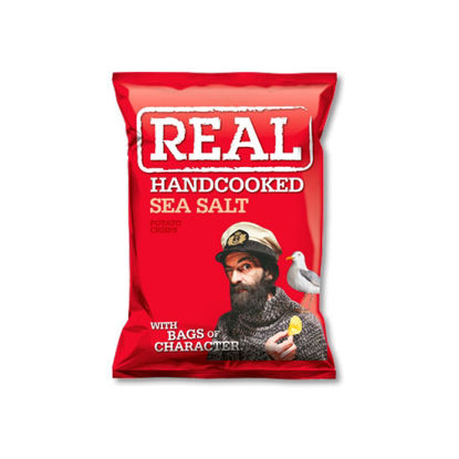 Picture of Real Handcooked Crisps Sea Salt (150g)