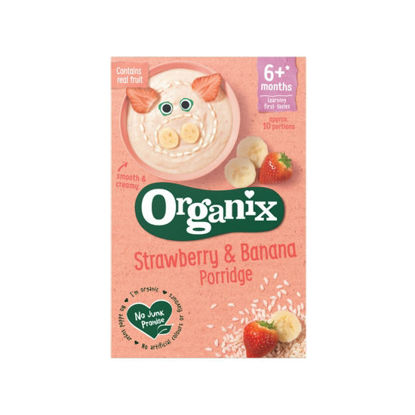 Picture of Oraganix Strawberry & Banana Porridge (120g)