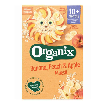 Picture of Organix Banana, Apple & Peach Muesli (200g)