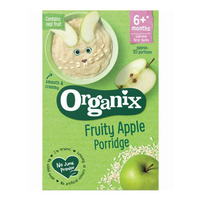 Picture of Organix Fruity Apple Porridge (120g)