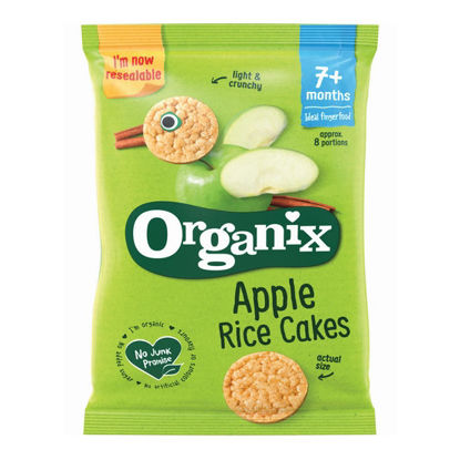 Picture of Organix Apple Rice Cakes (50g)
