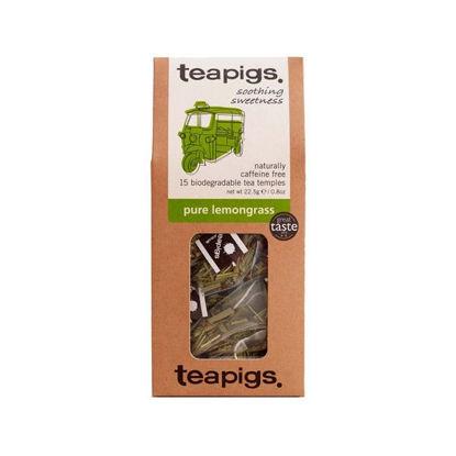 Picture of teapigs Pure Lemon Grass Tea 15 Temples (22.5g)