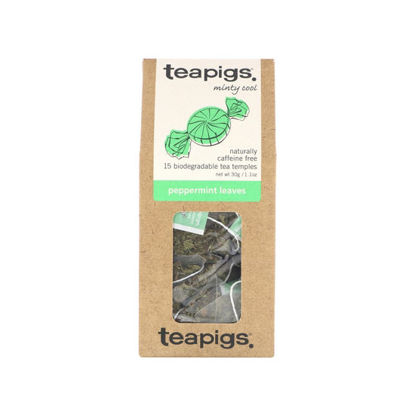 Picture of teapigs Peppermint Leaves 15 Temples (30g)