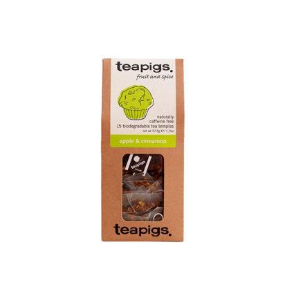 Picture of teapigs Apple and Cinnamon Tea 15 Temples (37.5g)