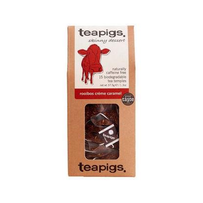 Picture of teapigs Rooibos Creme Caramel Tea 15 Temples (37.5g)