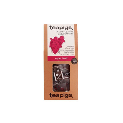 Picture of teapigs Super Fruit Tea 15 Temples (37.5g)