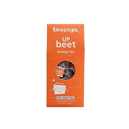Picture of teapigs UP Beet Energy Tea 15 Temples (45g)